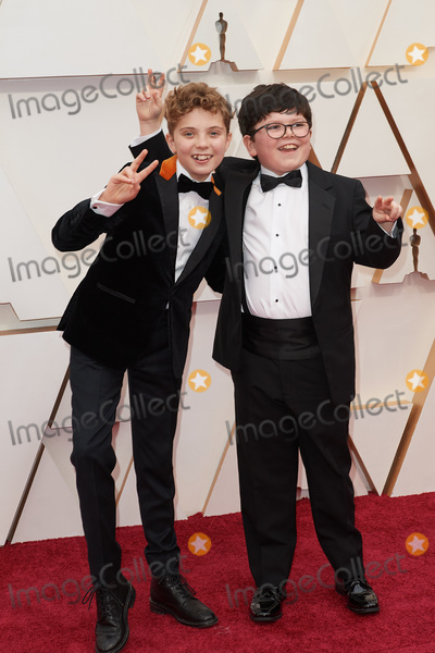 Archie Yates, Archie Yate Photo - 09 February 2020 - Hollywood, California - Roman Griffin Davis and Archie Yates. 92nd Annual Academy Awards presented by the Academy of Motion Picture Arts and Sciences held at Hollywood & Highland Center. Photo Credit: A.M.P.A.S./AdMedia