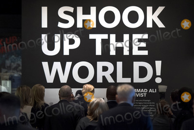 Donald Trump, Alias Photo - United States President Donald Trump (C) walks under a quote by Muhammad Alias he tours the Smithsonian National Museum of African American History & Culture in Washington, D.C. on February 21, 2017. Photo Credit: Kevin Dietsch/CNP/AdMedia