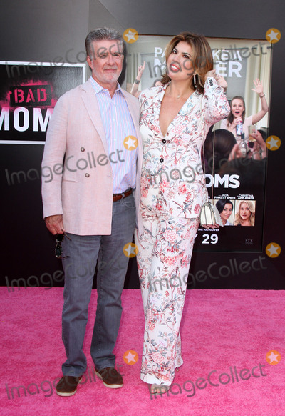Alan Thicke, Tanya Callau Photo - 26 July 2016 - Los Angeles, California - Alan Thicke and Tanya Callau. Bad Moms Premiere held at the Mann Village Theater. Photo Credit: AdMedia