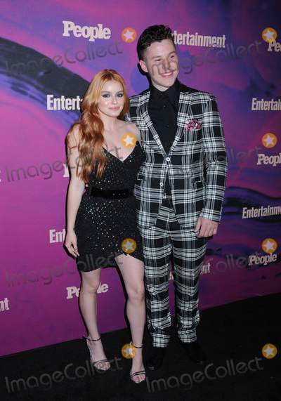 Ariel Winter, Nolan Gould Photo - 13 May 2019 - New York, New York - Ariel Winter and Nolan Gould at the Entertainment Weekly & People New York Upfronts Celebration at Union Park in Flat Iron. Photo Credit: LJ Fotos/AdMedia