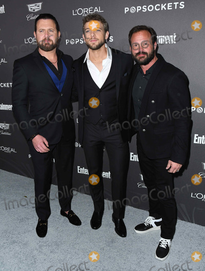 AJ Buckley, Max Thieriot, Judd Lormand Photo - 26 January 2019 - Los Angeles, California - AJ Buckley, Max Thieriot, Judd Lormand. 2018 Entertainment Weekly's Pre-SAG Awards Celebration held at Chateau Marmont. Photo Credit: Birdie Thompson/AdMedia