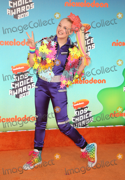 JoJo Siwa, Jo Jo, JoJo Photo - 23 March 2019 - Los Angeles, California - JoJo Siwa. 2019 Nickelodeon Kids' Choice Awards held at The USC Galen Center. Photo Credit: Faye Sadou/AdMedia