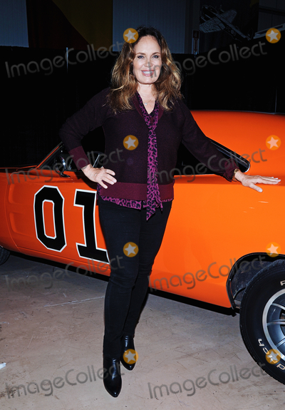 """Catherine Bach Photo - 01 October 2016 - Hamilton, Ontario, Canada.  Actress Catherine Bach (best known for her role as Daisy Duke on the TV series """"Dukes of Hazzard"""") at Hamilton Comic Con at the Canadian Warplane Heritage Museum. Photo Credit: Brent Perniac/AdMedia"""
