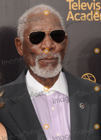 Morgan Freeman Photo - 11 September 2016 - Los Angeles, California. Morgan Freeman. 2016 Creative Arts Emmy Awards - Day 2 held at Microsoft Theater. Photo Credit: Birdie Thompson/AdMedia