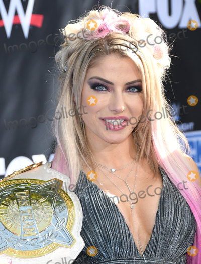 Alexa Bliss Photo - 04 October 2019 - Los Angeles, California - Alexa Bliss. WWE 20th Anniversary Celebration Marking Premiere Of WWE Friday Night SmackDown On FOX held at Staples Center. Photo Credit: Birdie Thompson/AdMedia