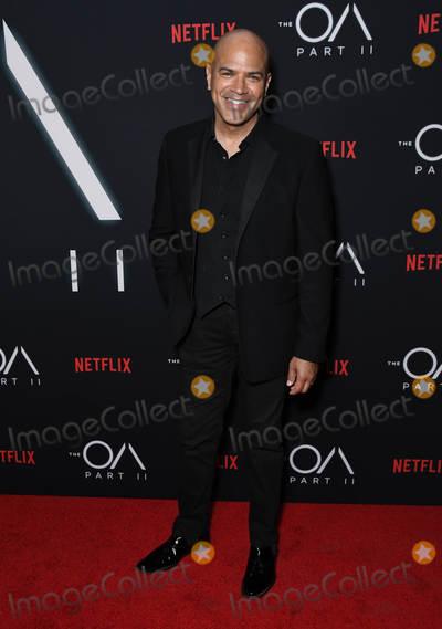 "Philip Anthony-Rodriguez, Anthony Rodriguez Photo - 18 March 2019 - Los Angeles, California - Philip Anthony-Rodriguez. Netflix's ""The OA Part II"" Los Angeles Premiere held at LACMA. Photo Credit: Birdie Thompson/AdMedia"