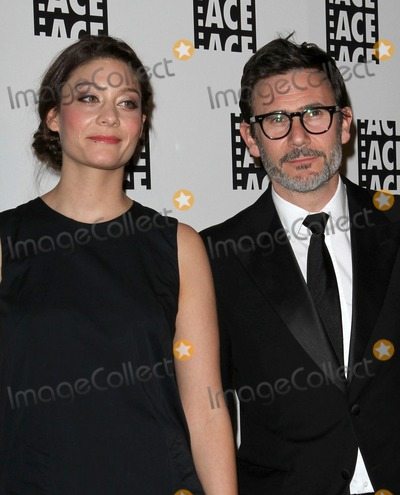 Michel Hazanavicius, Anne-Sophie Bion, Ann-Sophie Bion Photo - 18 February 2012 - Beverly Hills, California - Anne-Sophie Bion, Michel Hazanavicius. 62nd Annual ACE Eddie Awards Held At The Beverly Hilton Hotel. Photo Credit: Kevan Brooks/AdMedia