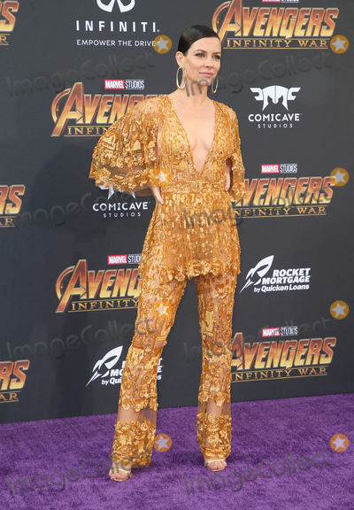 "Evangeline Lilly Photo - 23 April 2018 - Hollywood, California - Evangeline Lilly. Disney and Marvel's ""Avengers: Infinity War"" Los Angeles Premiere held at Dolby Theater. Photo Credit: F. Sadou/AdMedia"
