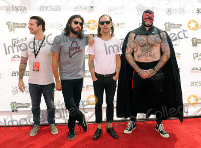 Andy Williams, Everytime I Die, Jordan Buckley Photo - 22 July 2015 - Cleveland, Ohio - Jordan Buckley, Stephen Micciche, and Daniel Davison and Andy Williams of the band Everytime I Die attend the 2015 Alternative Press Music Awards at Quicken Loans Arena. Photo Credit: Jason L Nelson/AdMedia