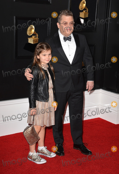 Photo - 10 February 2019 - Los Angeles, California - Patton Oswalt, Alice Rigney Oswalt. 61st Annual GRAMMY Awards held at Staples Center. Photo Credit: AdMedia