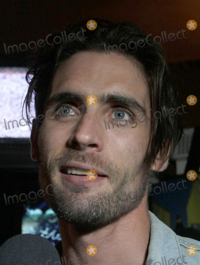 "Tyson Ritter, All-American Rejects, IAM, The All-American Rejects Photo - 26 March 2012 - Los Angeles, California - Tyson Ritter. The All American Rejects Record Release Party For New Album ""Kids In The Street"" Held At The iam8bit gallery. Photo Credit: Faye Sadou/AdMedia"