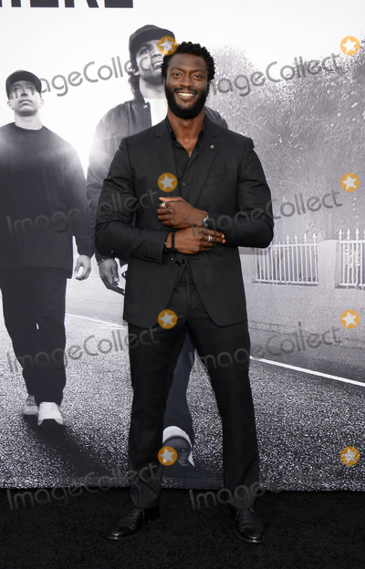 "Aldis Hodge, Aldis Hodges Photo - 10 August 2015 - Los Angeles, California - Aldis Hodge. Premiere Of Universal Pictures And Legendary Pictures' ""Straight Outta Compton"" held at Microsoft Theater. Photo Credit: Tonya Wise/AdMedia"