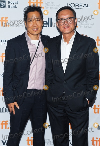 "Andrew Lau, Andrew Loo Photo - 10 September 2014 - Toronto, Canada - Andrew Loo, Andrew Lau. ""Revenge Of The Green Dragons"" Premiere during the 2014 Toronto International Film Festival held at the Ryerson Theatre. Photo Credit: Brent Perniac/AdMedia"