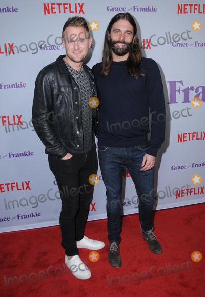 "Photo - 18 January 2018 - Culver City, California - Jonathan Van Ness. Netflix's ""Grace and Frankie"" Season 4 Special Screening held at Arclight Culver City. Photo Credit: Birdie Thompson/AdMedia"