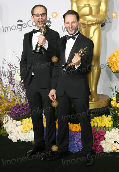 Laurent Witz, Alexandre Espigares Photo - 02 March 2014 - Hollywood, California - Laurent Witz, Alexandre Espigares. 86th Annual Academy Awards held at the Dolby Theatre at Hollywood & Highland Center. Photo Credit: AdMedia