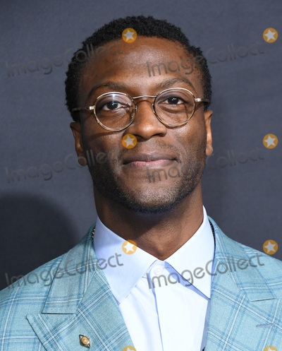 """Aldis Hodge, Aldis Hodges, TCL Chinese Theatre Photo - 24 February 2020 - Hollywood, California - Aldis Hodge. """"The Invisible Man"""" Los Angeles Premiere held at the TCL Chinese Theatre. Photo Credit: Birdie Thompson/AdMedia"""