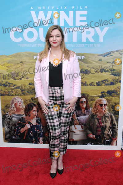 """Amber Tamblyn Photo - Amber Tamblyn at the World Premiere of """"WINE COUNTRY"""" at the Paris Theater in New York, New York , USA, 08 May 2019"""