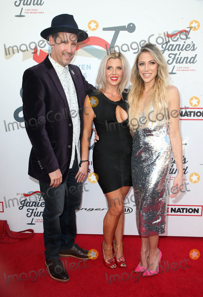 Steven Tyler, Aimee Preston, Anouk Aimé Photo - LOS ANGELES, CA - JANUARY 28: Aimee Preston, Guests, at Steven Tyler and Live Nation presents Inaugural Janie's Fund Gala & GRAMMY Viewing Party at Red Studios in Los Angeles, California on January 28, 2018. Credit: Faye Sadou/MediaPunch