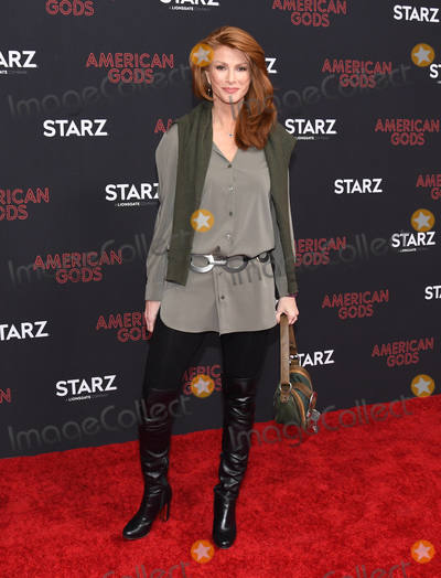 """Angie Everhart Photo - 05 March 2019 - Los Angeles, California - Angie Everhart. """"American Gods"""" Season 2 Los Angeles Premiere held at the Ace Hotel Photo Credit: Birdie Thompson/AdMedia"""