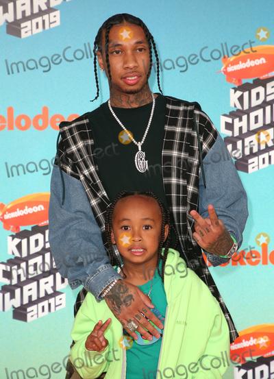 Tyga Photo - 23 March 2019 - Los Angeles, California - Tyga and King Cairo. 2019 Nickelodeon Kids' Choice Awards held at The USC Galen Center. Photo Credit: Faye Sadou/AdMedia