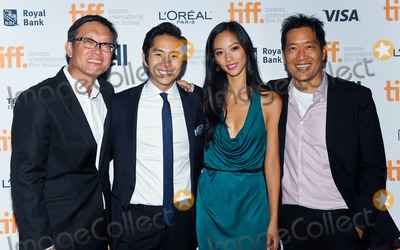 "Justin Chon, Andrew Lau, Andrew Loo, Shuya Chang Photo - 10 September 2014 - Toronto, Canada - Andrew Lau, Justin Chon and Shuya Chang and Andrew Loo . ""Revenge Of The Green Dragons"" Premiere during the 2014 Toronto International Film Festival held at the Ryerson Theatre. Photo Credit: Brent Perniac/AdMedia"