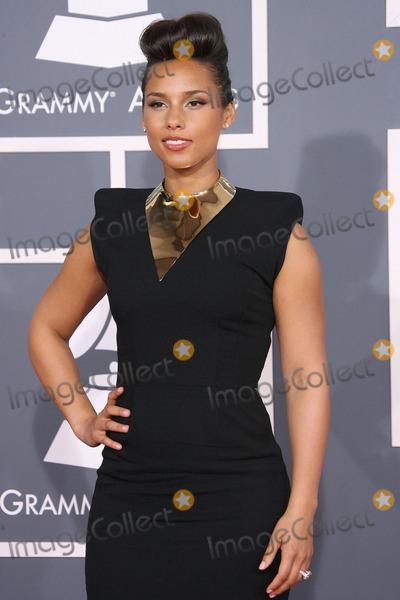Alicia Keys, Grammy Awards Photo - 12 February 2012 - Los Angeles, California - Alicia Keys. The 54th Annual GRAMMY Awards held at the Staples Center. Photo Credit: AdMedia