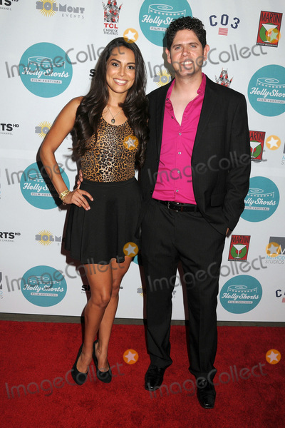 Hollies, Raquel Pomplun, Alex Pomplun Photo - 14 August 2014 - Hollywood, California - Raquel Pomplun, Alex Pomplun. 10th Annual HollyShorts Film Festival Opening Night Celebration held at the TCL Chinese Theater. Photo Credit: Byron Purvis/AdMedia