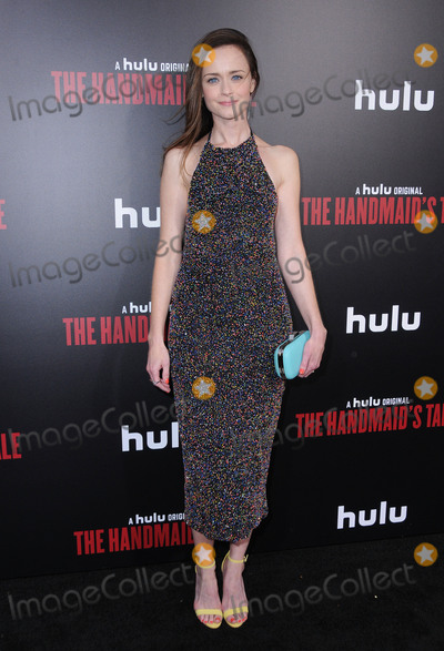 """Alexis Biedel Photo - 25 April 2017 - Hollywood, California - Alexis Biedel. Los Angeles premiere of Hulu's """"The Handmaid's Tale"""" held at ArcLight Hollywood in Hollywood. Photo Credit: Birdie Thompson/AdMedia"""