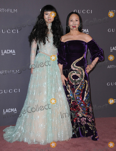 Asia Chow, Ava Chow Photo - 04 November  2017 - Los Angeles, California - Ava Chow, Asia Chow. 2017 LACMA Art+Film Gala held at LACMA in Los Angeles. Photo Credit: Birdie Thompson/AdMedia