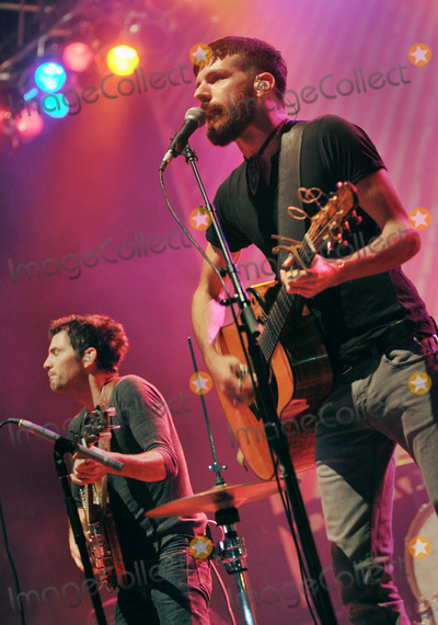 """Avett Brothers, The Avett Brothers, Scott Avett, Seth Avett Photo - 27 May 2011 - Pittsburgh, PA - Vocalist/guitarist SETH AVETT and vocalist/banjo player SCOTT AVETT of the band THE AVETT BROTHERS performs to a Sold Out crowd at a stop on their """"Summer Camp 2011 Tour"""" held at Stage AE.  Photo Credit: Jason L Nelson/AdMedia"""
