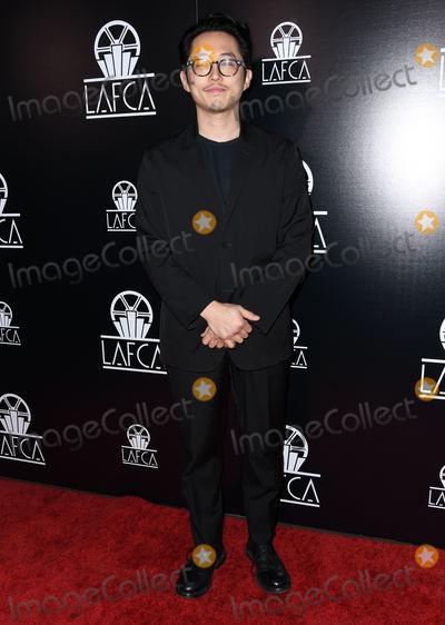 Steven Yeun Photo - 12 January 2019 - Century City, California - Steven Yeun. The 44th Annual Los Angeles Film Critics Association Awards held at InterContinental Los Angeles, Century City. Photo Credit: Birdie Thompson/AdMedia