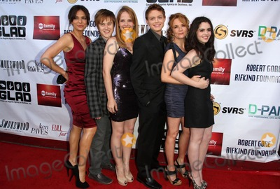 Constance Marie, Lea Thompson, Lucas Grabeel, Vanessa Marano, Katie Leclerc, Katie Leclerc_, Sean Berdy Photo - 5 June 2011 - West Hollywood, California - Constance Marie, Lucas Grabeel, Katie Leclerc, Sean Lance Berdy, Lea Thompson, Vanessa Marano. 9th Annual GLAD Benefit Extravaganza_Arrivals  Held At The House of Blues. Photo Credit: Kevan Brooks/AdMedia