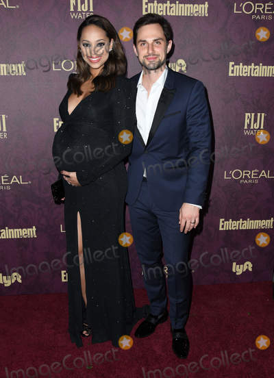 Amber Stevens, Amber Stevens-West, Andrew West Photo - 15 September 2018 - West Hollywood, California - Amber Stevens West, Andrew West. 2018 Entertainment Weekly Pre-Emmy Party held at the Sunset Tower Hotel. Photo Credit: Birdie Thompson/AdMedia
