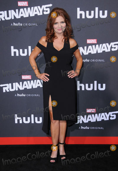 "Brigid Brannagh, Runaways Photo - 16 November  2017 - Westwood, California - Brigid Brannagh. Premiere Of Hulu's ""Marvel's Runaways"" held at Regency Village Theater in Westwood. Photo Credit: Birdie Thompson/AdMedia"