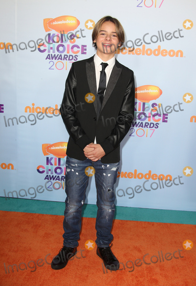 Mace Coronel Photo - 11 March 2017 -  Los Angeles, California - Mace Coronel. Nickelodeon's Kids' Choice Awards 2017 held at USC Galen Center. Photo Credit: Faye Sadou/AdMedia