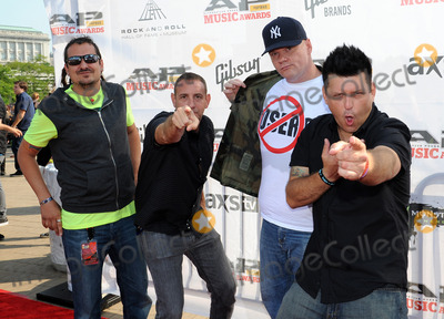Less Than Jake, THE ROCK Photo - 21 July 2014 - Cleveland, OH - Members of the band LESS THAN JAKE attend the 1st Annual 2014 Gibson Brands AP Music Awards at the Rock and Roll Hall of Fame and Museum   Photo Credit: Jason L Nelson/AdMedia