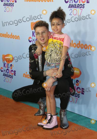 Photo - 11 March 2017 -  Los Angeles, California - Machine Gun Kelly, Casie Colson Baker. Nickelodeon's Kids' Choice Awards 2017 held at USC Galen Center. Photo Credit: Faye Sadou/AdMedia