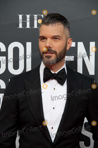AJ Gibson Photo - 06 January 2018 - Beverly Hills, California - AJ Gibson. 76th Annual Golden Globe Awards held at the Beverly Hilton. Photo Credit: HFPA/AdMedia