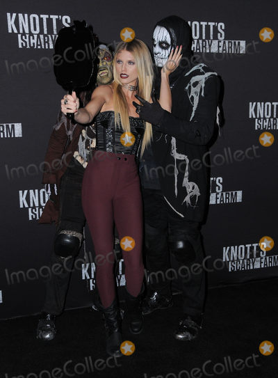 AnnaLynne McCord Photo - 30 September 2016 - Buena Park, California. Annalynne McCord. Knott's Scary Farm Black Carpet Party held at  Knott's Berry Farm. Photo Credit: Birdie Thompson/AdMedia