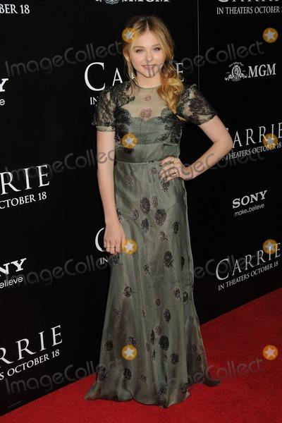 "Chloe Grace Moretz, Chloe Moretz Photo - 7 October 2013 - Hollywood, California - Chloe Moretz, Chloe Grace Moretz. ""Carrie"" Los Angeles Premiere held at Arclight Cinemas. Photo Credit: Byron Purvis/AdMedia"