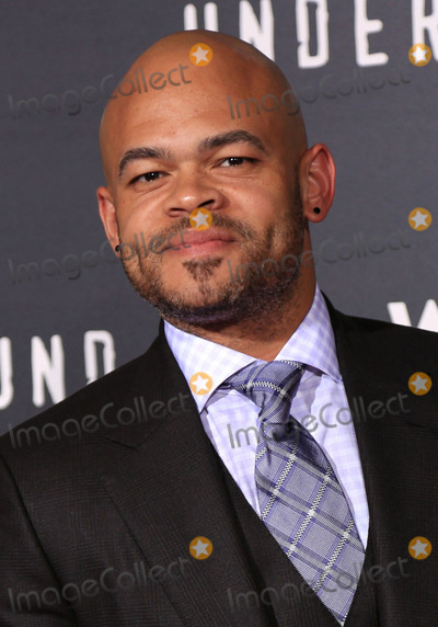 """Anthony Hemingway Photo - 02 March 2016 - Los Angeles, California - Anthony Hemingway. """"Underground"""" Los Angeles Premiere held at The Theatre At The Ace Hotel. Photo Credit: Winston Burris/AdMedia"""
