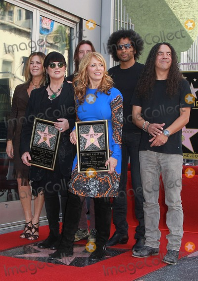 Alice in Chains, Ann Wilson, Jerry Cantrell, Mike Inez, Nancy Wilson, Rita Wilson, Sean Kinney, William DuVall Photo - 25 September 2012 - Hollywood, California - Rita Wilson, Ann & Nancy Wilson of Heart with members William Duvall, Sean Kinney, Jerry Cantrell and Mike Inez of Alice in Chains. Ann Wilson, Nancy Wilson Heart is honored with a Hollywood Star Held On The Hollywood Walk of Fame Hollywood. Photo Credit: Kevan Brooks/AdMedia