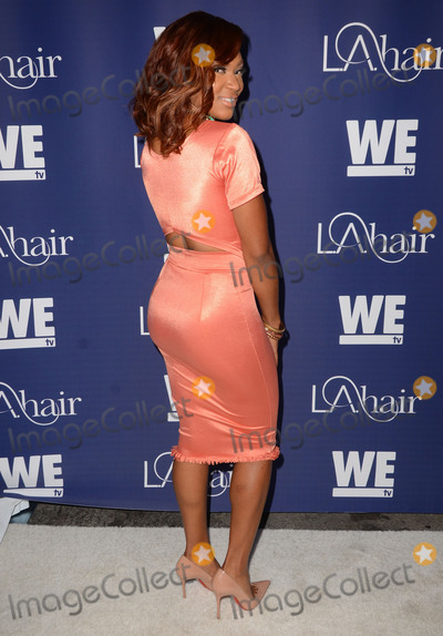 """Angela Christine Photo - 14 July 2015 - Hollywood, California - Angela Christine. Arrivals for WE Tv's """"L.A. Hair"""" premiere party held at Avalon Hollywood. Photo Credit: Birdie Thompson/AdMedia"""
