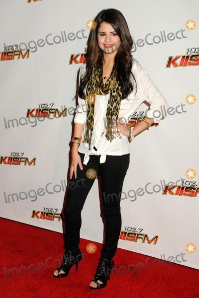 Selena Gomez, Gomez Photo - 5 December 2010 - Los Angeles, California - Selena Gomez. 102.7 KIIS FM's Jingle Ball 2010 held at Nokia Theatre L.A. Live. Photo: Byron Purvis/AdMedia