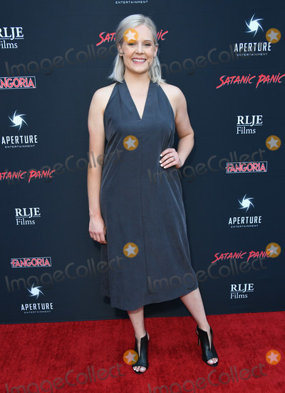 "Amanda Presmyk Photo - 23 August 2019 - Hollywood, California - Amanda Presmyk. ""Satanic Panic"" Los Angeles Premiere held at The Egyptian Theatre. Photo Credit: Birdie Thompson/AdMedia"