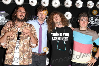 Vines, Blake Anderson, Anders Holm, Adam DeVine, Kyle Newacheck Photo - 28 August 2011 - Los Angeles, California - Kyle Newacheck, Anders Holm, Blake Anderson and Adam DeVine. 28th Annual MTV Video Music Awards - Arrivals held at Nokia Theatre L.A. Live. Photo Credit: Kevan Brooks/AdMedia