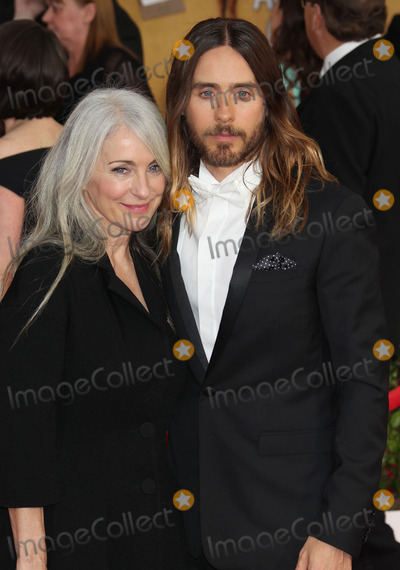 Jared Leto Photo - 18 January 2014 - Los Angeles, California - Jared Leto, mother Constance Leto. 20th Annual Screen Actors Guild Awards held at The Shrine Auditorium. Photo Credit: Russ Elliot/AdMedia