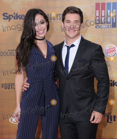 "Chloe Bridges, Adam DeVine Photo - 04 June 2016 - Culver City, California - Chloe Bridges, Adam Devine. Arrivals for Spike's ""Guy's Choice"" held at Sony Pictures Studios. Photo Credit: Birdie Thompson/AdMedia"