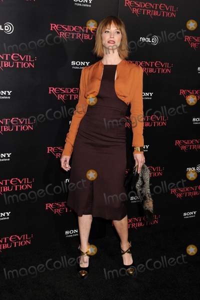 "Sienna Guillory Photo - 12 September 2012 - Los Angeles, California - Sienna Guillory. ""Resident Evil: Retribution"" Los Angeles Premiere held at Regal Cinemas L.A. Live. Photo Credit: Byron Purvis/AdMedia"