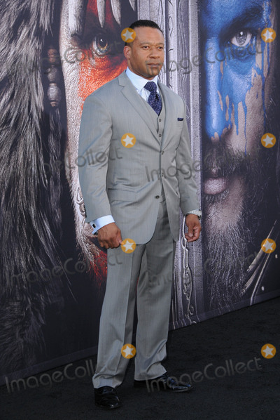 """Dean Redman, Redman Photo - 06 June 2016 - Hollywood, California - Dean Redman. Arrivals for the Premiere Of Legendary Pictures and Universal Pictures' """"Warcraft"""" held at the TCL Chinese Theater IMAX. Photo Credit: Birdie Thompson/AdMedia"""